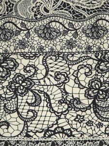 LuLaRoe OS ~ Black & Tan LACE ~ Floral Stunning NEW RELEASE Leggings