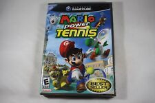 Mario Power Tennis (Nintendo Gamecube) NEW Factory Sealed Near Mint