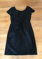 J Crew Black wool KATE dress 10