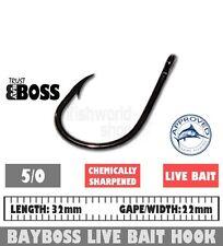 Live Bait Hook 5/0  /  25 pack   Bay Boss Tackle Fishing Hooks
