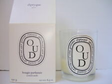 Diptyque OUD Candle Scented Incense, Patchouli and Sandalwood