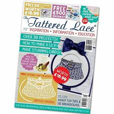 Tattered Lace Magazine Issue 28 Stephanie Weightman Blossom Die