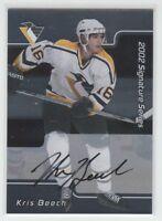 [68591] 2001-02 BAP Signature Series Autographs #194 Kris Beech