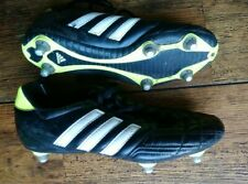 Adidas Black Football Boots UK Size 8 / EUR 42 - Soft ground changeable studs
