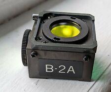 Nikon Blue B 2a Dm 510 Fluorescence Filter Cube Microscope Diaphot 200 300
