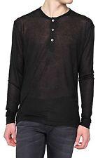 Herren-Freizeithemden & -Shirts aus Mischgewebe mit Rundhals