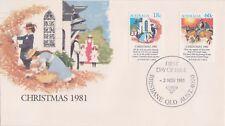 (K60-20) 1981 AU FDC 78c 2stamps Christmas (S)