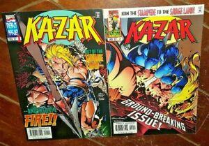 Ka-zar #1 & #2, (1997, Marvel): Free Shipping!