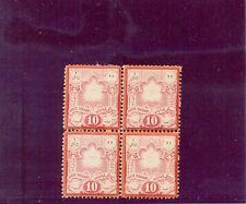PERSIA 1882 SCOTT Nº51 BLOQUE NUEVO