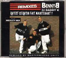 Benny B & DJ Daddy K - Qu'Est-Ce Qu'On Fait Maintenant? (Remixes) CDM 1991 - 4TR