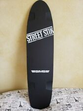 Vintage NOS 1980s Sims Street Stik Skateboard long board deck