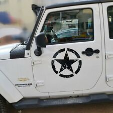 2x Army Delta Special Star Military Kit Force Decal Sticker For Jeep Wrangler R