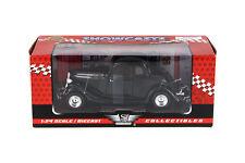 Black 1934 Ford Coupe 1:24 Diecast Motormax Showcasts Car Nib