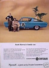 1966 Plymouth Barracuda Formula S ORIGINAL Vintage Ad C MY STORE   5+= FREE SHIP