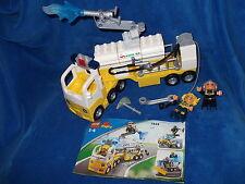 LEGO DUPLO VILLE grosser FLUGHAFEN LÖSCHZUG LKW Nr. 7844     100 komplett + BA