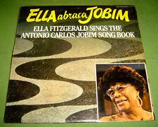 PHILIPPINES:ELLA FITZGERALD, ANTONIO CARLOS JOBIM - Abraca LP,Record,Vinyl,JAZZ