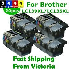 20x LC 139XL 135XL LC139XL  Ink Cartridges for Brother MFC J6520DW J6720DW J6920