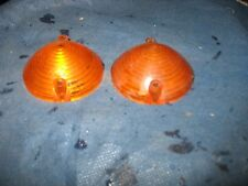 Mustang 65 to 66 amber parking light lenses  (2)cougar 67 also