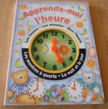 Hard Cover French Book Apprends-moi L'heure ! Moira Butterfield