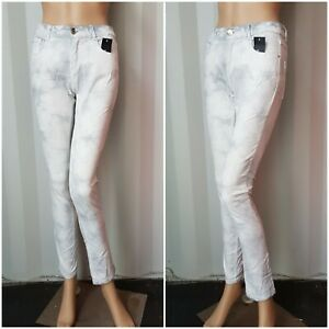 New Women Skiny White/Light Grey Skinny Jeans Ex C&A BUY ONE GET ONE FREEE