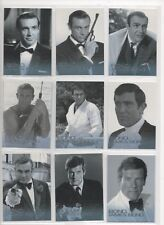 JAMES BOND MISSION LOGS/50TH ANNIVERSARY FULL 22 CARD BOND &JAMES BOND SET