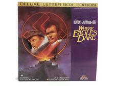 Where Eagles Dare Deluxe Letter-Box Edition Laser Videodisc 1988