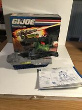Hasbro GI Joe Pulverizer In Its Original Box