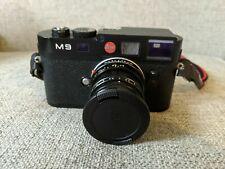 Leica M M9 18.0MP Digital Camera - Black - With Summicron 50mm f2