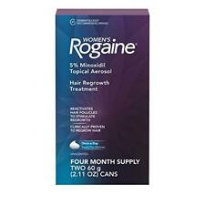 Women's Rogaine 5% Minoxidil Foam for Hair Thinning and Loss, Topical Treatment