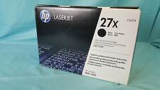 HP LaserJet 27X Black Toner High Volume Print Cartridge C4127X Laserjet 4000...