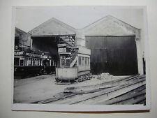 ENG1200 - 1928 PLYMOUTH CORPORATION Tramways - TRAM No1 PHOTO