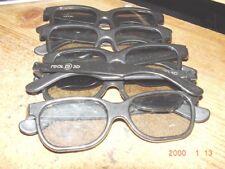REAL 3D GLASSES (5 pair)