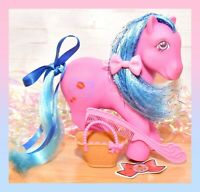 ❤️My Little Pony MLP G1 Vtg Sweet Kisses KISS 'n and TELL UK Euro Exclusive❤️