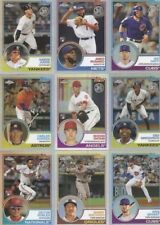 2018 TOPPS CHROME INSERTS 1983 INSERTS, COMPLETE YOUR SET, YOU PICK, MINT