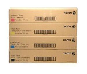 4 x Original Toner XEROX Color 550 560 570 C60 C70 7975 / 006R01525 -006R01528
