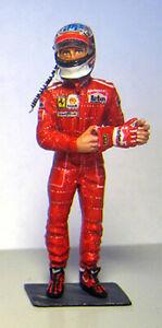 1/43 1996 Schumacher figure for Tameo or BBR Ferrari F310 Racing Dioramics