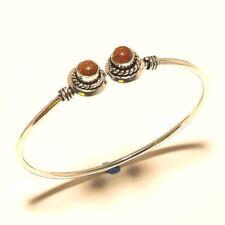Handmade Fashion Jewelry N135 Sunstone 925 Silver Plated Gemstone