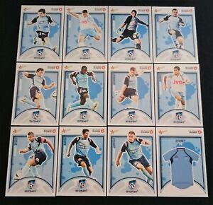 12 x Sydney FC Select 2009 A-League Cards Team Set