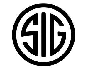 SIG Sauer Firearms Vinyl Decal Sticker Vehicle Window Car Truck Bumper Ammo Box