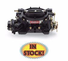 Edelbrock Performer 600 cfm Square-Flange, Elect. Choke Black Carburetor 14063