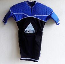 Gilbert Epaulière de Rugby Triflex Charger manches courtes bleu noir Taille XS