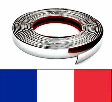 30mm x 1m BANDE ELEGANTE ADHESIVE CHROME AUTO BAGUETTE DECORATIVE VOITURE NEUF
