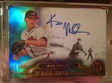 KRIS MEDLEN Autograph 2014 Topps Tribute #'d /50 Auto Braves/Royals b6 on card