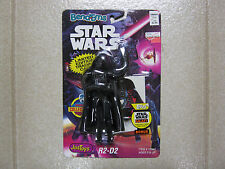 Star Wars Bend-Ems Darth Vader R2-D2 ERROR card, mispackaged, Just Toys 1993