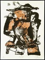 "DDR-Kunst. ""Menopteros"" 1990 Lithographie Frank HERRMANN (*1955 D), handsigniert"