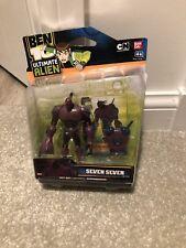 ben 10 figure Rare Seven seven Ultimate Alien