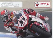 Noriyuki Haga Promo Card Xerox Ducati World Superbikes.