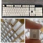 White 104 PBT Keycaps Set Fit Cherry MX Mechanical Keyboard Big Sale