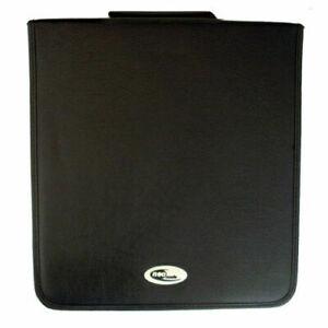 1 x PU Faux Leather 500 CD/DVD Wallet Carry Case Holder Bag Storage Ring Binder