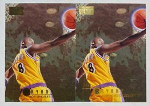 (2) Kobe Bryant 1996-97 SkyBox Premium Rookie Card RC 55 Lot LAKERS HOF